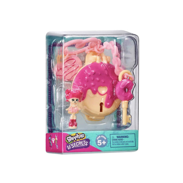 SHOPKINS LIL´ SECRETS T3 SECRET LOCKET - DONA 83078