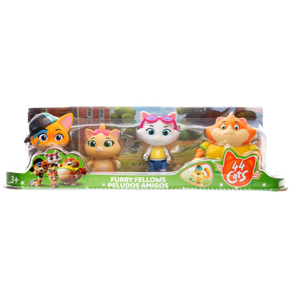 44 GATOS 4 PACK DE FIGURAS 88039