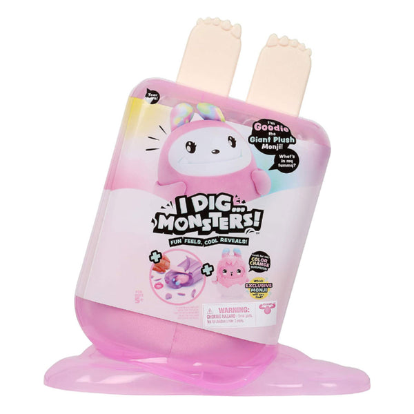 I DIG MONSTERS PALETA JUMBO ROSA 86385