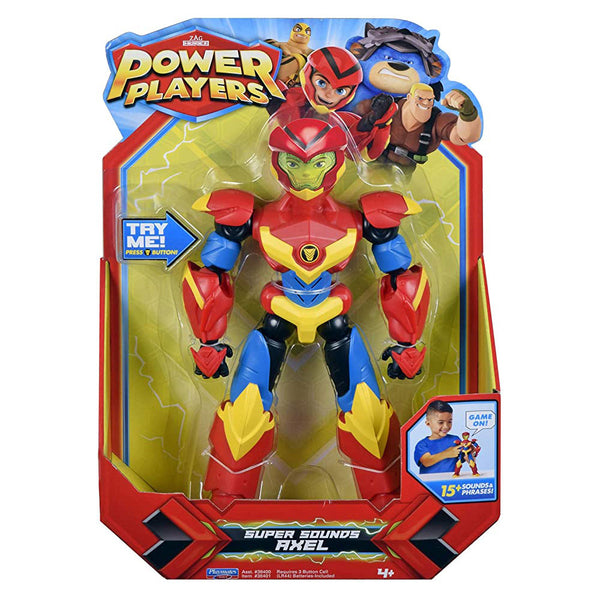 POWER PLAYERS SUPER SOUNDS AXEL 86368