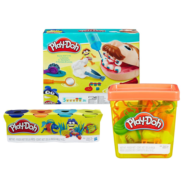 BUNDLE VISITA AL DENTISTA PLAY-DOH
