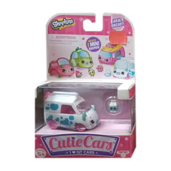 SHOPKINS CUTIE CARS BLANCO CON AZUL 80278