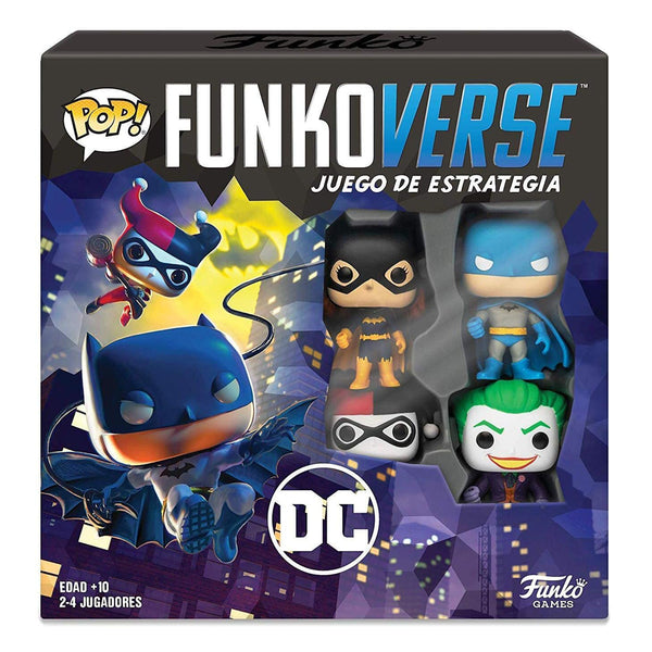 POP FUNKOVERSE DC 4PK SPANISH 43474