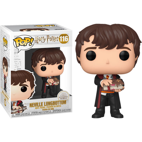 Funko Pop! Harry Potter - Libro de Neville con monstruo 48068