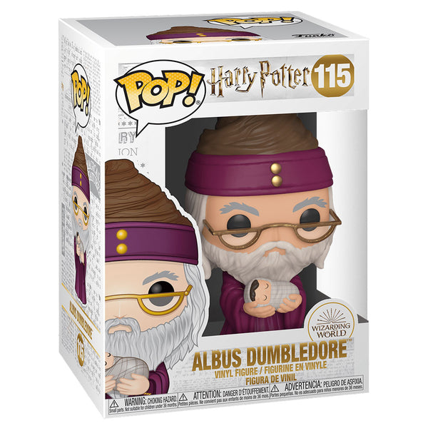 Funko Pop! Harry Potter - Dumbledore con Baby Harry 48067