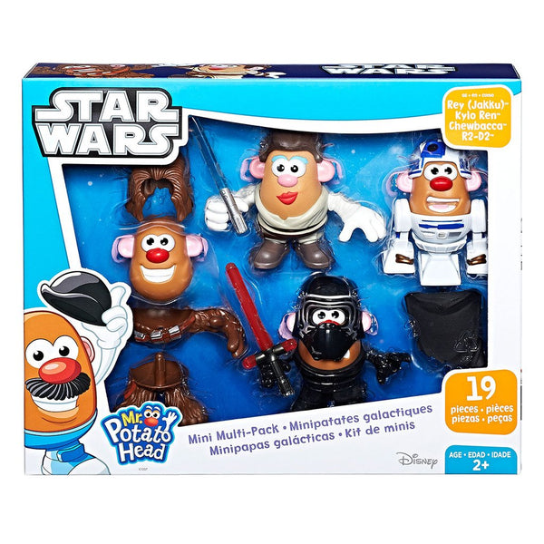 CARA DE PAPA STAR WARS 4 PACK C1237