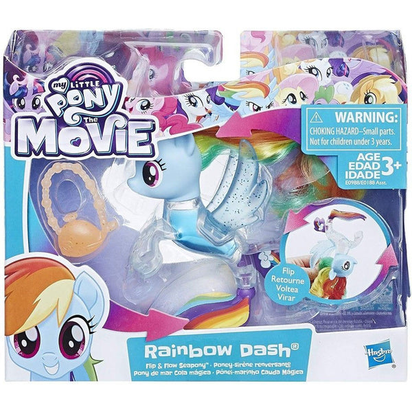 MY LITTLE PONY PONY DE MAR COLA MAGICA RAINBOW DASH E0188