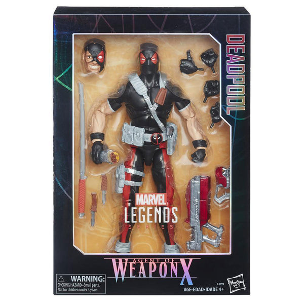 Marvel Legends Series Deadpool Agent of Weapon X 12""