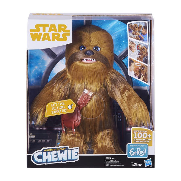 STAR WARS: CHEWBACCA INTERACTIVO