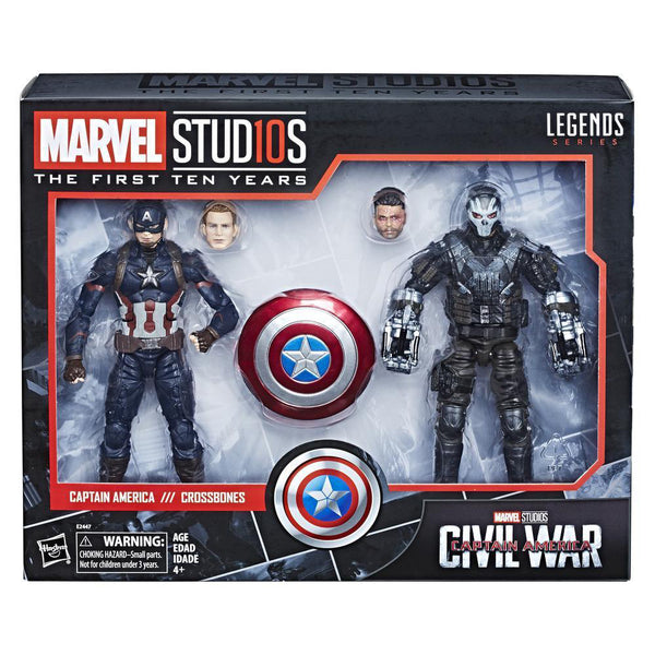 MVL CAPTAIN AMERICA & CROSSBONES