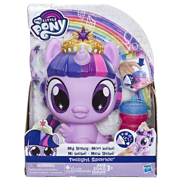 MY LITTLE PONY PONYS BEBE - TWILIGHT SPARKIE E5107