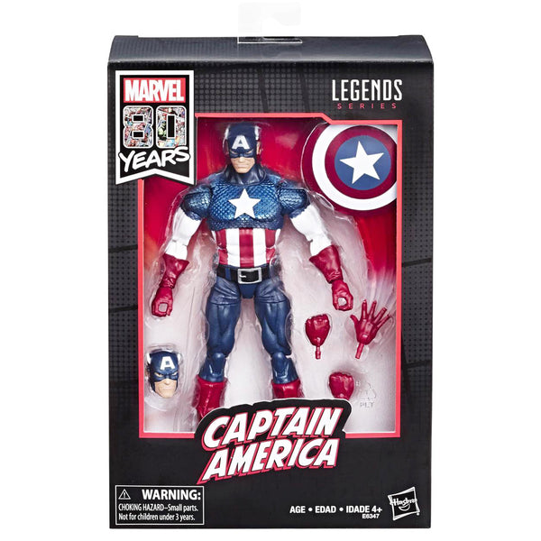 MARVEL LEGENDS 80TH ANNIVERSARY ALEX ROSS CAPTAIN AMERICA