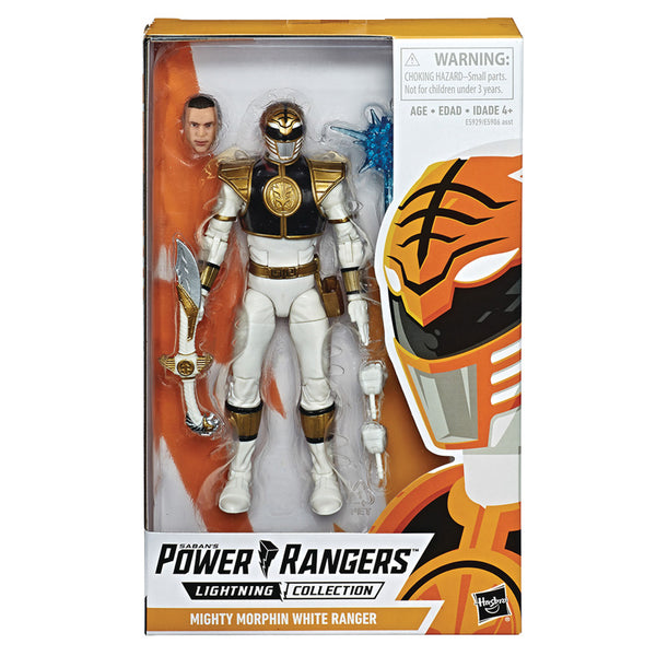"PGR FIGURA VALUE 6"" - MIGHTY MORPHIN WHITE RANGER"