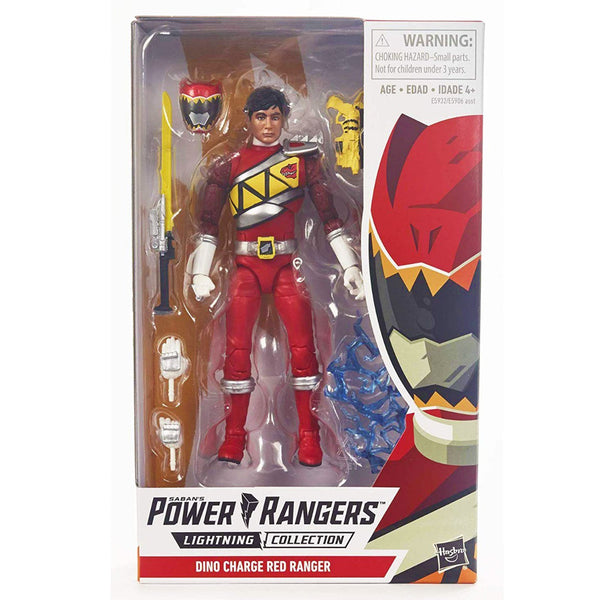 "PGR FIGURA VALUE 6"" - DINO CHARGE RED RANGER"