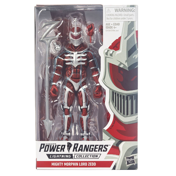 "PGR FIGURA VALUE 6"" - MIGHTY MORPHIN LORD ZEDD"