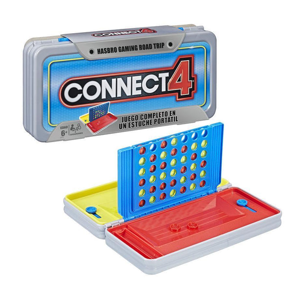 HASBRO GAMING ROAD TRIP SERIES CONNECT 4 E3279