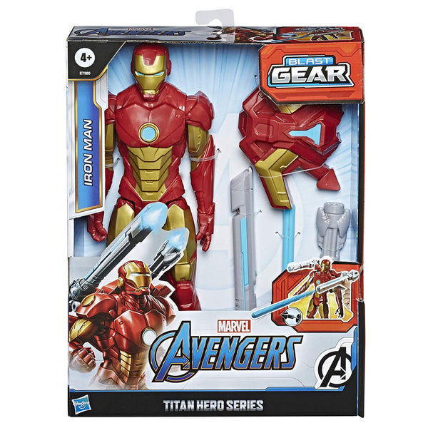 AVENGERS TITAN HERO INNOVATION IRON MAN E7380