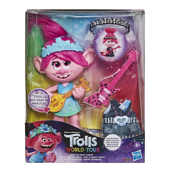 TROLLS POP ROCK POPPY E9411