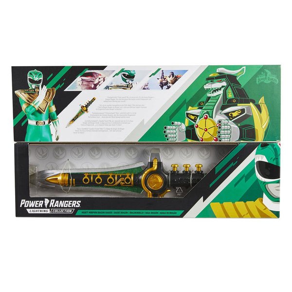 Power Rangers Lightning Collection Mighty Morphin Daga del Dragón Verde E8162