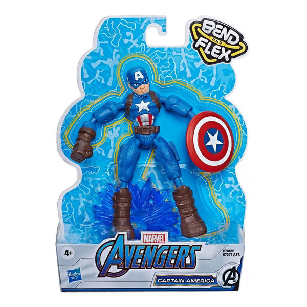AVENGERS BEND AND FLEX - CAPTAIN AMERICA E7377