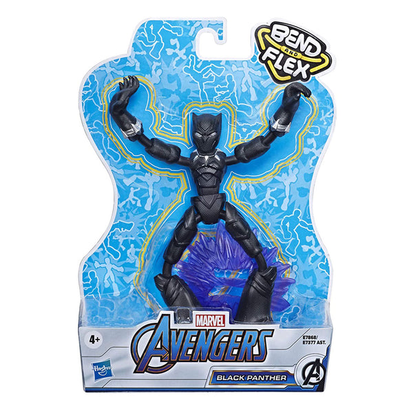 AVENGERS BEND AND FLEX - BLACK PANTHER E7377