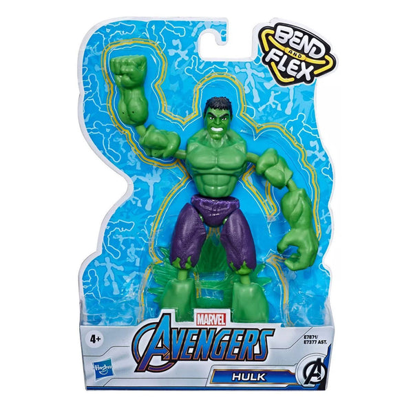 AVENGERS BEND AND FLEX -HULK E7377