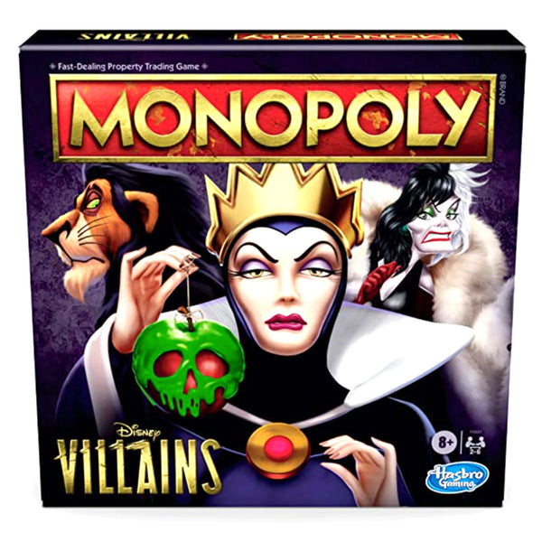 MONOPOLY DISNEY VILLAINS F0091