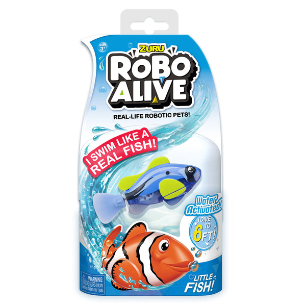 ROBO ALIVE GIRLS - LITTLE FISH