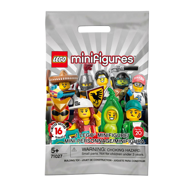 LEGO MINIFIGURAS SOBRE - 20TH EDITION 71027