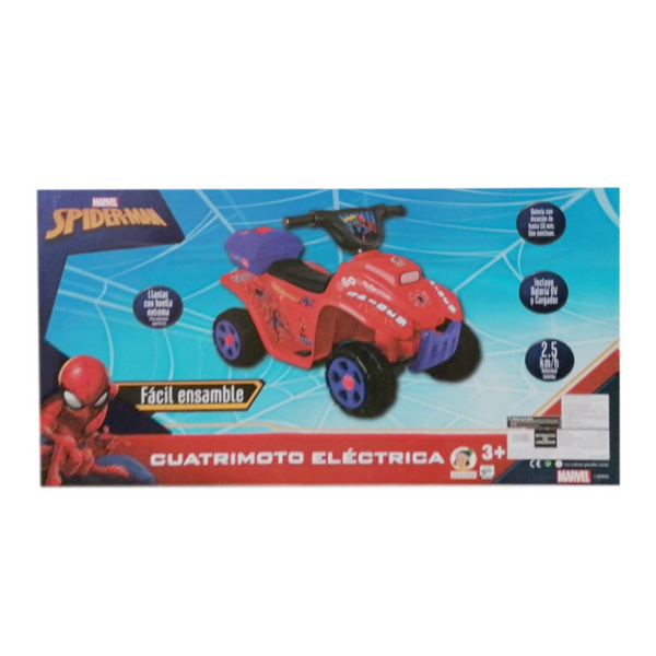CUATRIMOTO ELECTRICA SPIDERMAN 6 VOLTS 282001