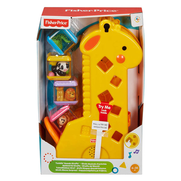 FISHER PRICE PEEKABLOCKS JIRAFA B4253