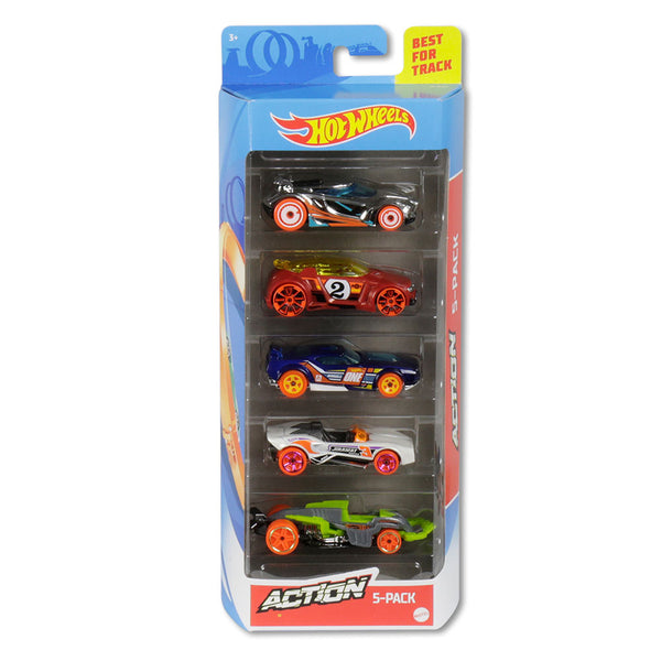 HOT WHEELS PAQUETE DE 5 - ACTION 1806