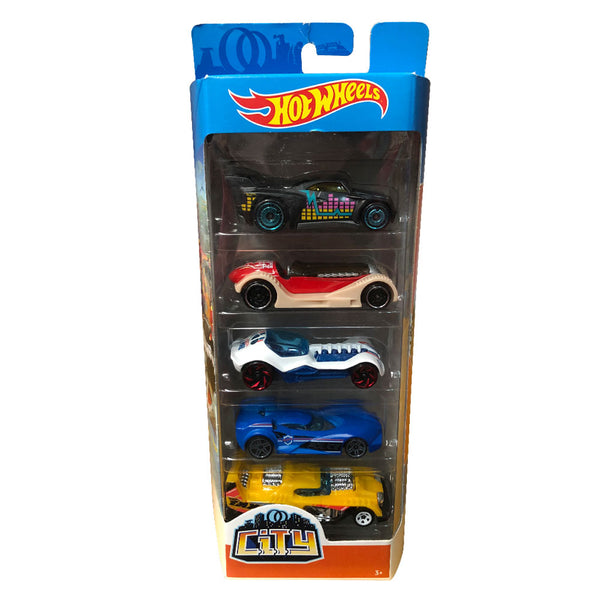 HOT WHEELS PAQUETE DE 5 - CITY 1806