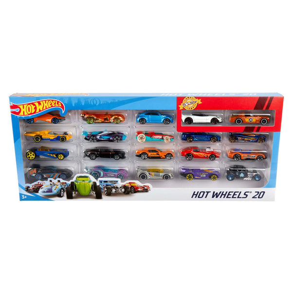 HOT WHEELS 20 PAQUETE DE AUTOS H7045