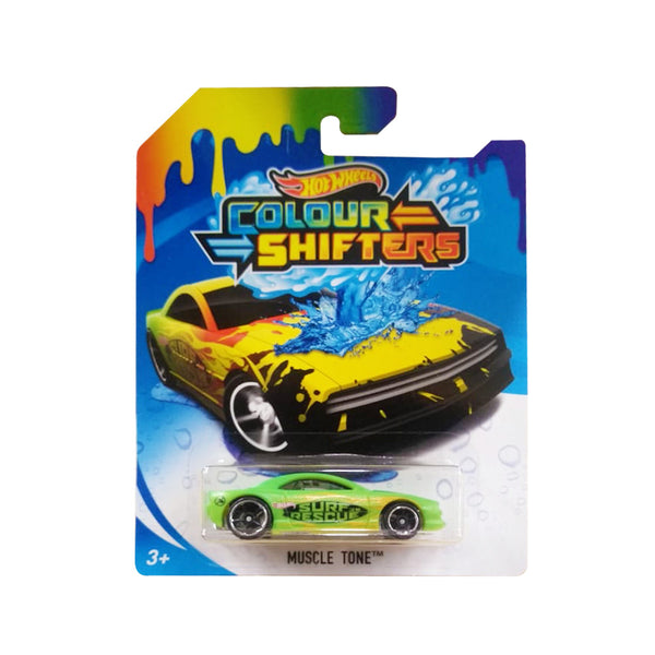 HOT WHEELS COLOR SHIFTERS - MUSCLE TONE MATTEL BHR15