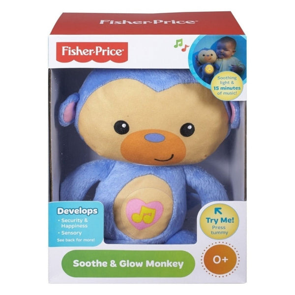 FISHER-PRICE ANIMALES LUMINOSOS - MONO BRILLANTE CKV15