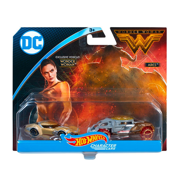 HOT WHEELS - WONDER WOMAN 2 PACK FDM63