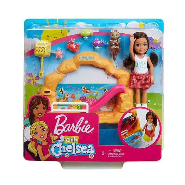 BARBIE CLUB DE CHELSEA - ACUARIO FDB32