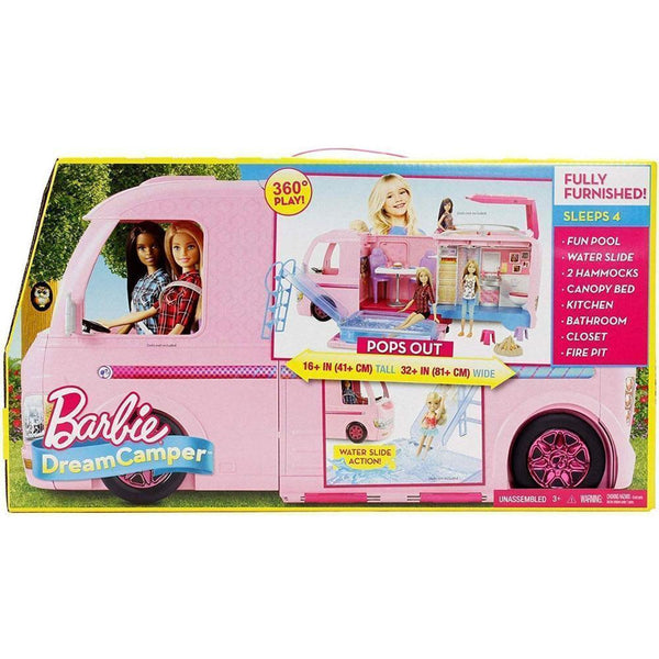 BARBIE CÁMPER DE BARBIE FBR34