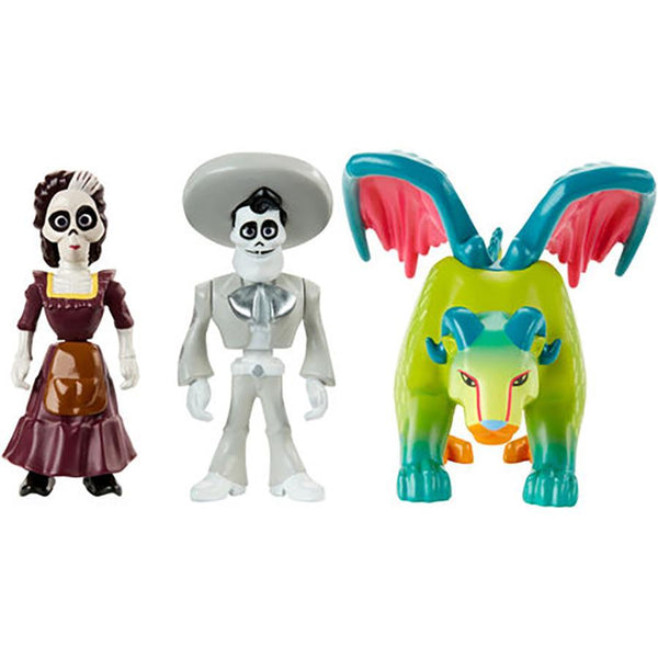 LAT COCO 2 FIGURES 3 PACK ASST