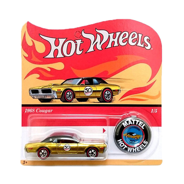 HOT WHEELS 50 ANIVERSARIO - 1968 COUGAR