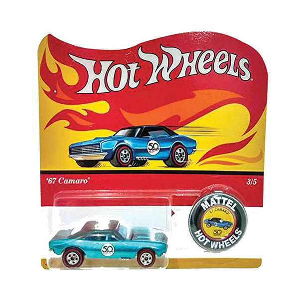 HOT WHEELS 50 ANIVERSARIO - 67 CAMARO