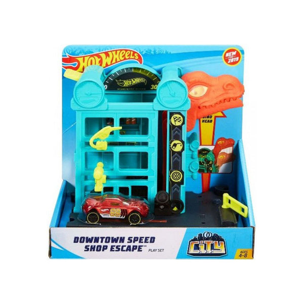 HOT WHEELS CITY - DINO ATAQUE AL GARAJE