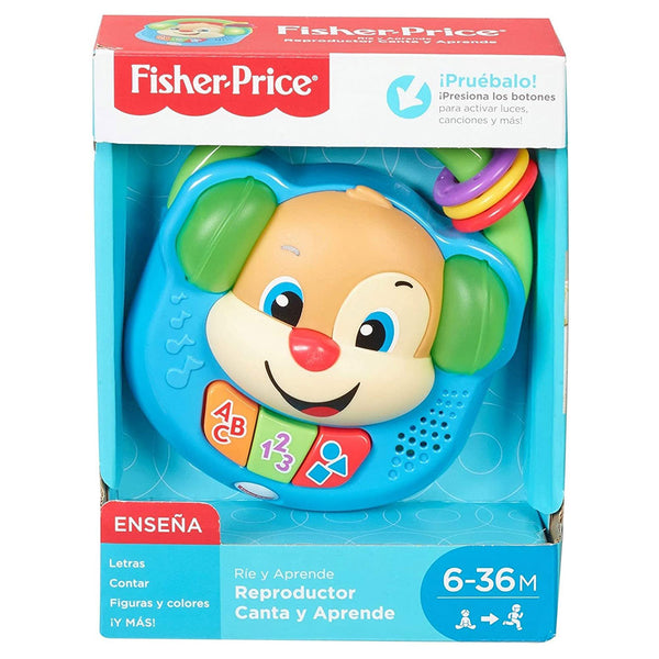FISHER PRICE REPRODUCTOR CANTA Y APRENDE FPV23