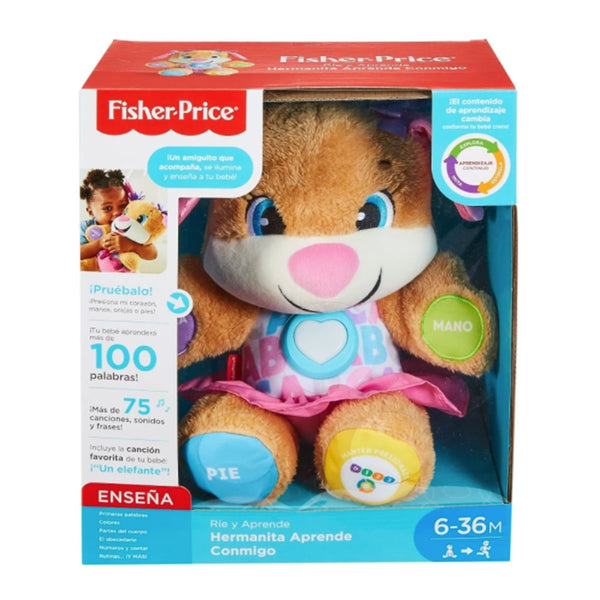 FISHER-PRICE HERMANITA APRENDE CONMIGO FTN31