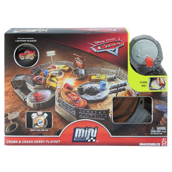 CARS MINI RACERS CRAZY 8 PLAYSET