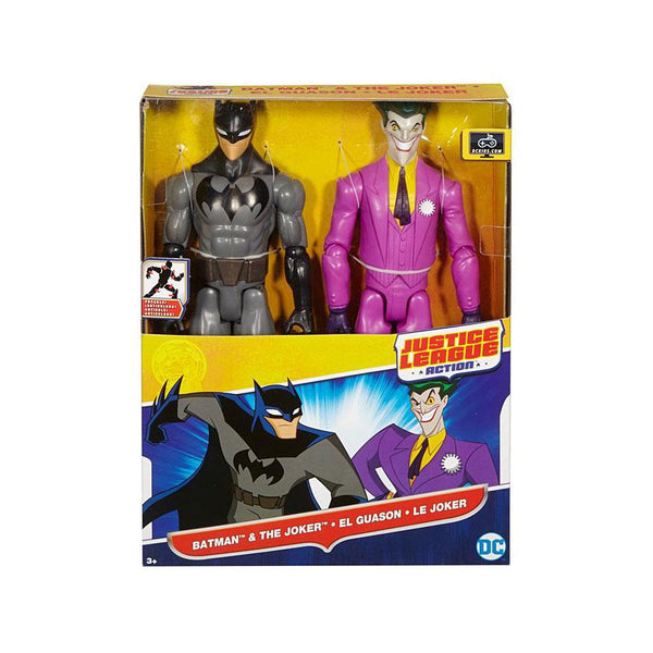 JL ACTION JOKER Y BATMAN DE FIGURAS DE 12