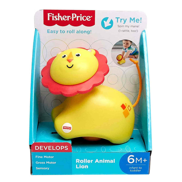 FISHER-PRICE MIS PRIMEROS ANIMALITOS DIVERTIDOS - LEÓN FRR65