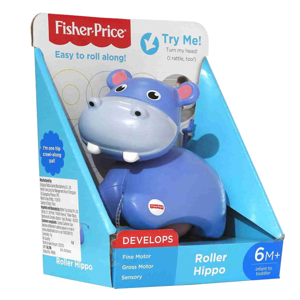 FISHER-PRICE MIS PRIMEROS ANIMALITOS DIVERTIDOS - HIPOPÓTAMO FRR65