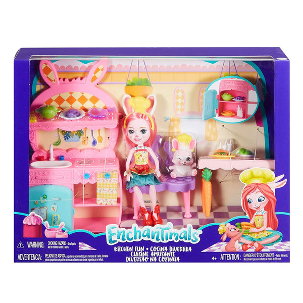 ENCHANTIMALS CUARTO DIVERTIDOS - COCINA DIVERTIDA FRH44